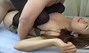Japanese milf teased and screwed