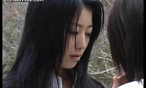 Asian Teen Fairy Schoolgirls Team a few Action