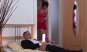 skinny matures first harmful anal lesson