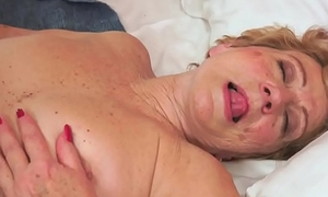 Soft granny with bigtits gets fucked nicely