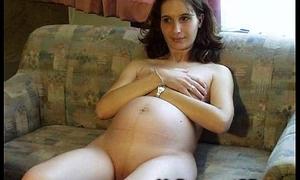 Uncompromised Pregnant Teenie GFs!