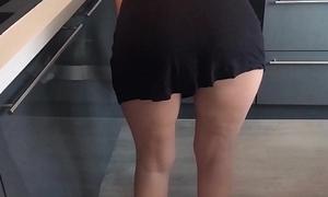 Maid Upskirt No Panties