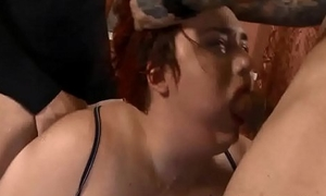 (new) Miserable BBW Curvy Quinn throat pounded at hand ground-breaking
