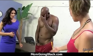 Mam with Chubby Pair gets Pounded away from Inky Cock 13