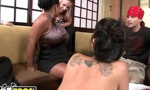 BANGBROS - Unclad Sushi Nigh Asian Pornstar Asa Akira with the addition of Tasha Lynn