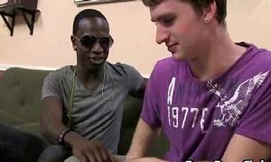 Blacks On Boys -Gay Bareback Interracial Fuck Movie 03