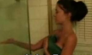 Tiro Hawt teen Having it away in defend an issue of Shower