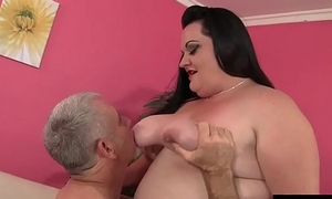 Raunchy Plumper Joanna Roxxx Takes a Thick Cock into Her Tight Asshole