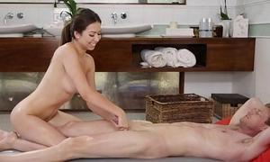 Melissa Moore sensual massage