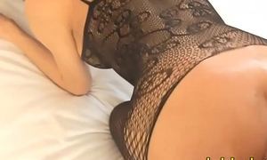 Ladyboy around shear lingerie anal splintered