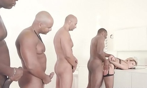 Clementine Marceau comes to get hyacinthine cock, double anal &amp_ lasting fucking