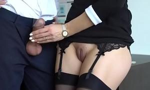 Master fuck very hard his staff